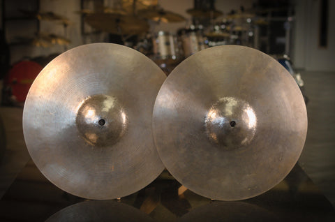"Ludwig Standard Re-Hammered 13"" Hi-hat Cymbals - Made by Paiste"