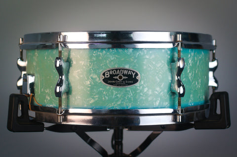 "John Grey & Sons Broadway 'Model 516' 14x5"" Birch Snare Drum - 1957"