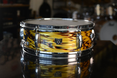 "Yamaha C-200 14x5"" Snare Drum in Original 'Golden Dragon' Finish - 1970's"