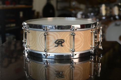 "Angel Drums 14x5.5"" Solid Stave Snare Drum"