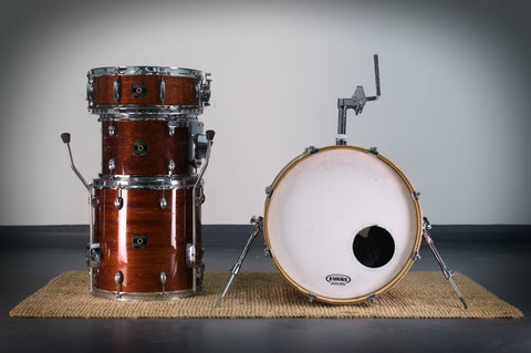 "Gretsch Catalina Club Drum Kit in Gloss Walnut - 18""/14""/12""/14""SD"