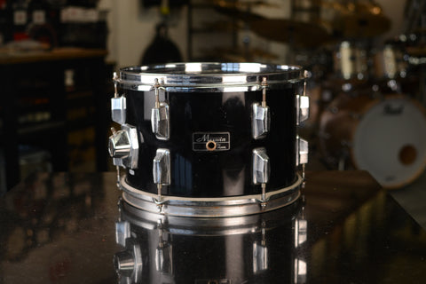 "Maxwin '512' 12x8"" Rack Tom in Jet Black - 1980's"