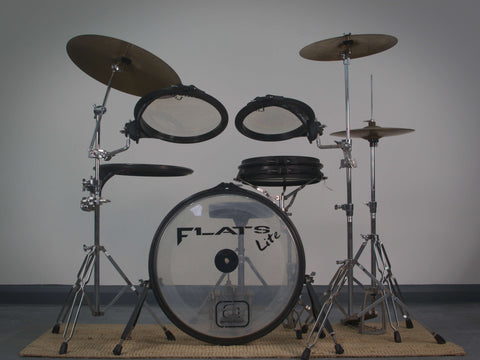 Arbiter Flats Lite Drum Kit with Hardware & Cymbals