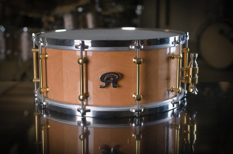 "Angel 14x6"" 'Sorbus Torminalis' Wood Snare Drum - High Gloss Finish"
