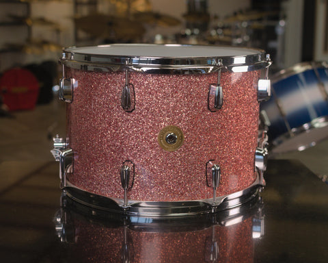 "Vintage Soul 15x10"" 'Radio King' Snare Drum in Rose Sparkle"