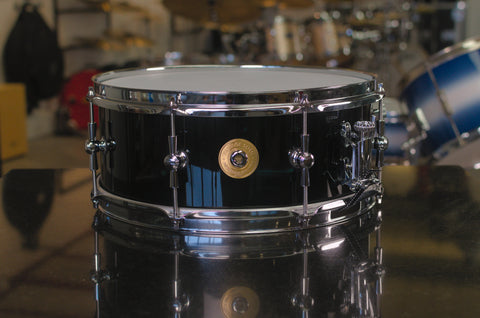 "Vintage Soul Steel Series 14x5.5"" Snare Drum - Black Lacquer"