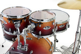 "Pearl Export Lacquer 5-Piece 22"" Fusion Drum Kit with Hardware and Cymbal Pack"