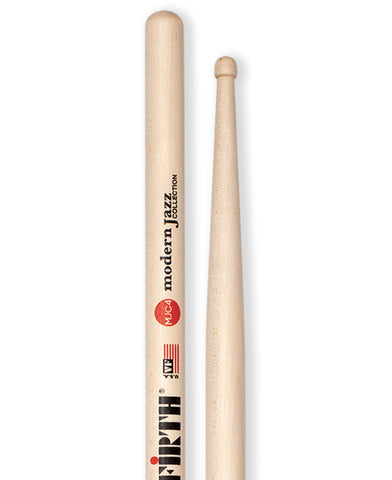 Vic Firth Modern Jazz Collection - 4 (Wood tip) Drumsticks - VF-MJC4