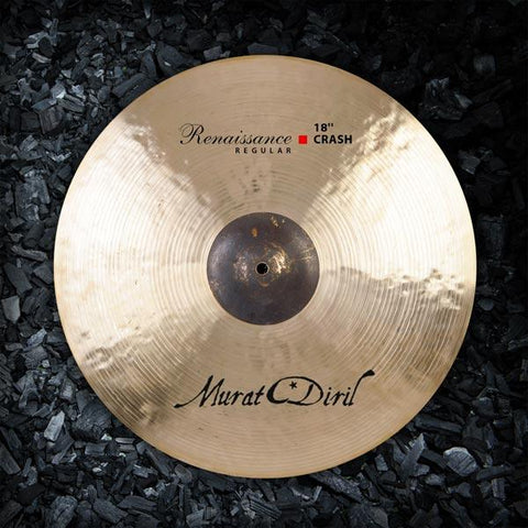 "Murat Diril 18"" Renaissance Regular Crash Cymbal - RR2018"