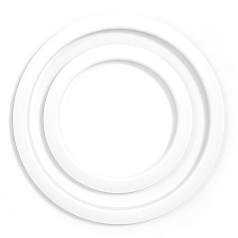 Gibraltar 4 inch Porthole Protector Hoop White