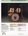 Ludwig 75th Anniversary 'Eagle' Drum Kit in Natural Finish - 1984