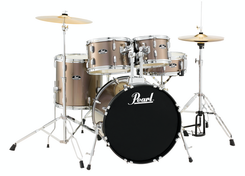 Pearl Roadshow 5-Piece Drum Kit with Hardware and Cymbals - 18/10/12/14/13SD