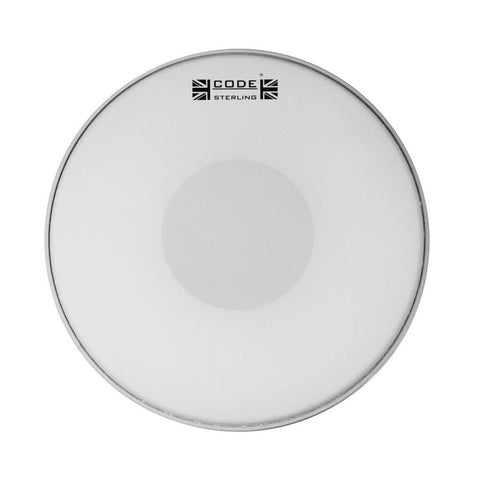 CODE Sterling Coated Snare Drum Heads