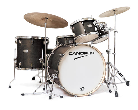 Canopus 4-Piece YAIBA II 'Groove' Drum Kit without Snare Drum