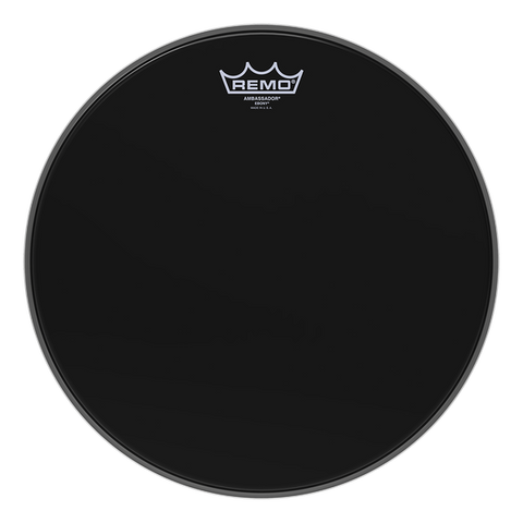 "Remo Ambassador Ebony Bass Drum Head 22"" - ES-1022-00"