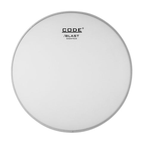 CODE Blast Coated Bass Drum Batter Heads