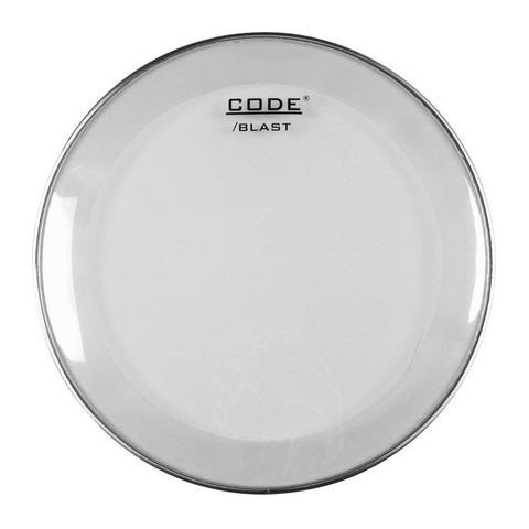 CODE Blast Clear Bass Drum Batter Heads