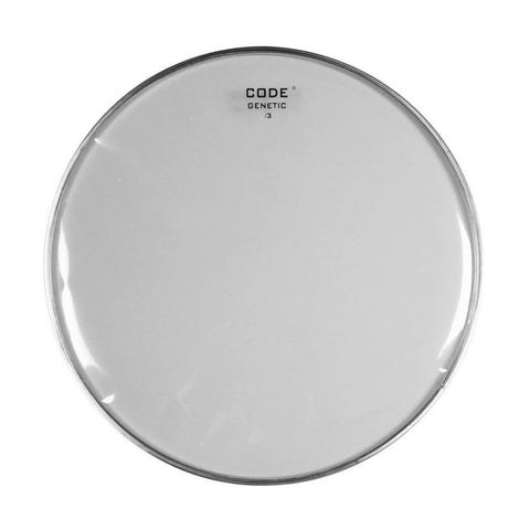 CODE Genetic 3-Mil Snare Side Drum Heads