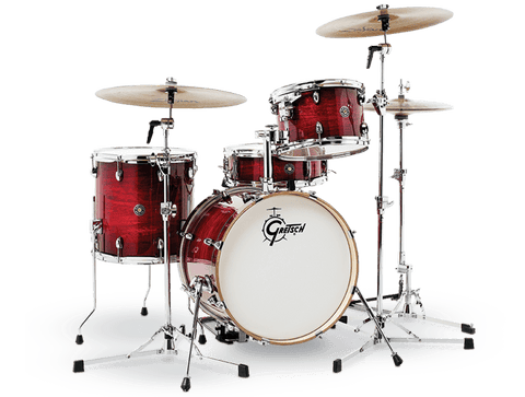 "Gretsch Catalina Club 18"" Jazz Drum Kit Gloss Crim"