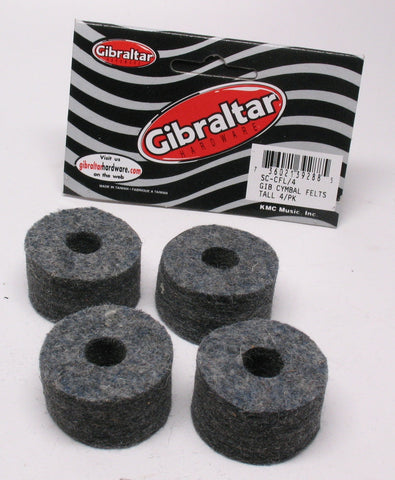 Gibraltar Cymbal Felts Pack of 4 - GI854244