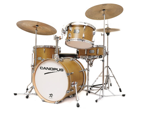 Canopus 4-Piece Yaiba II 'Bop' Drum Kit with Snare Drum