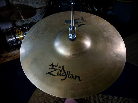 "zildjian 14"" a custom projection hi hat cymbals"