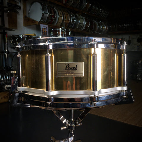 "Pearl Brass 14x6.5"" Free Floating / Floater Snare Drum"