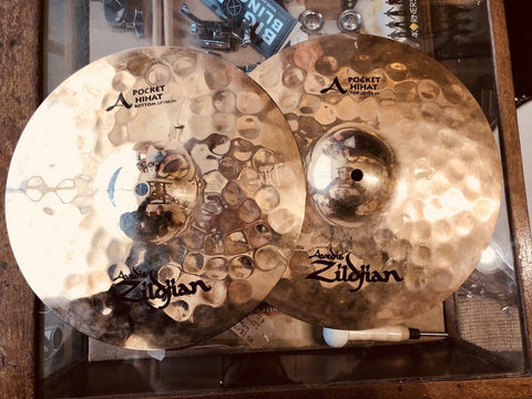 "Zildjian 13"" Pocket Hi Hats"