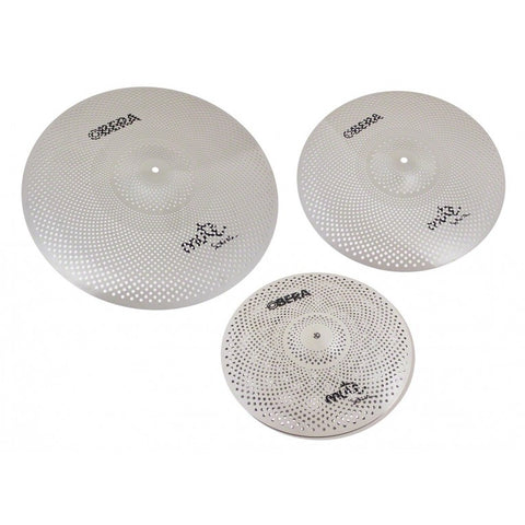 "OBERA Silent 3pc Cymbal Set - 14"" 16"" 20"""