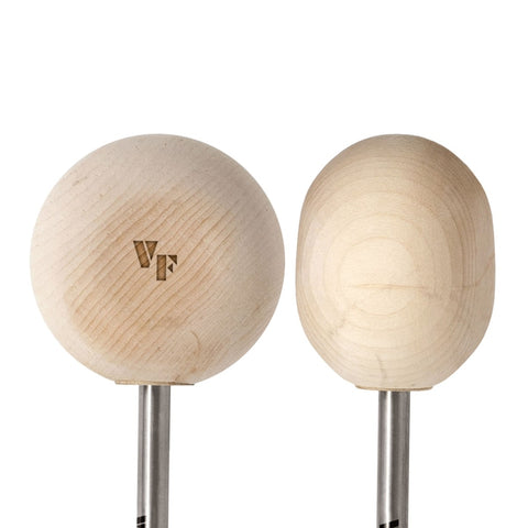 Vic Firth VicKick Wooden Radial Bass Drum Beater - VF-VKB2