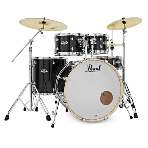 Pearl Export 5-Piece Drum Set with HWP830 and SBR Cymbal Pack - 22/10/12/16/14SD