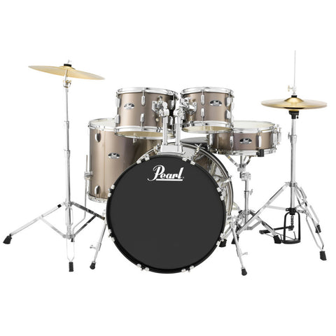 Pearl Roadshow 5-Piece Drum Kit with Hardware and Cymbals - 20/10/12/14/14SD