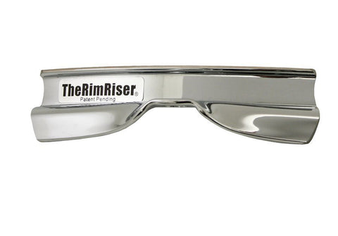 Rim Riser Chrome Cross Stick Enhancer