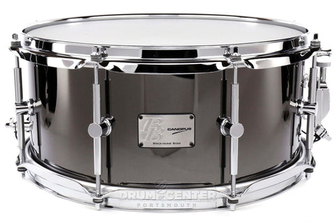 "CANOPUS - Black Nickel Over Brass 14"" x 6.5"" Snare Drum - BB-1465"