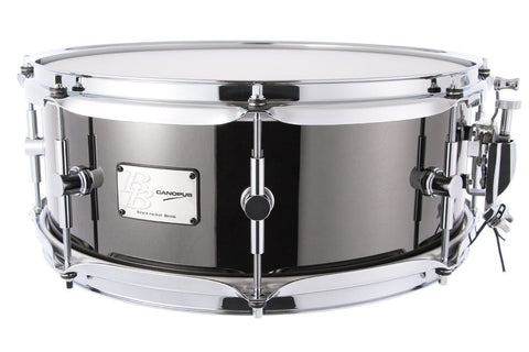 "CANOPUS - Black Nickel Over Brass 14"" x 5.5"" Snare Drum"