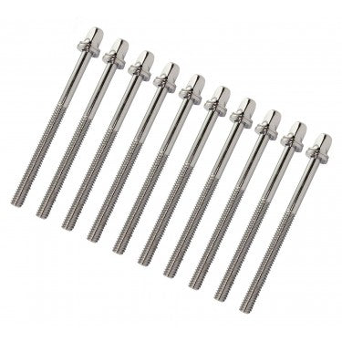 "SD 75mm Tension Rods with Washers 7/32"" Thread 10-Pack"