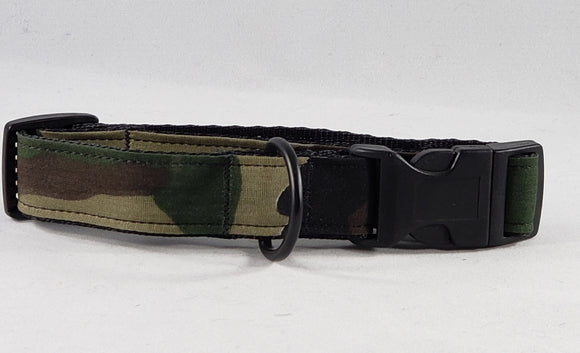 Mirage Pet Products - Jungle Camo Nylon Dog Collar - Medium - RPCS People & Pet Shop