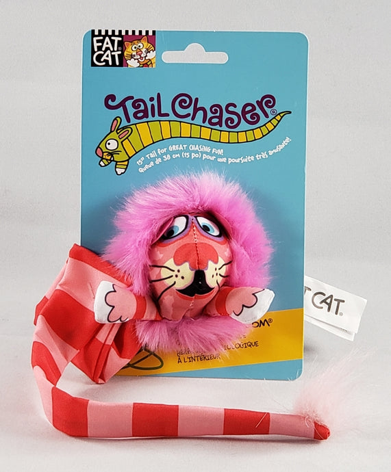 Fat Cat Kitty Hoots Tail chaser cat toy