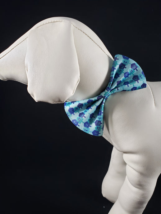 Mirage Pet Products - Dreidel, Dreidel, Dreidel Pet Bow Tie - Medium