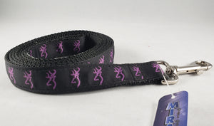 Mirage Pet Products - Purple Deer Nylon Dog Leash - RPCS People & Pet Shop
