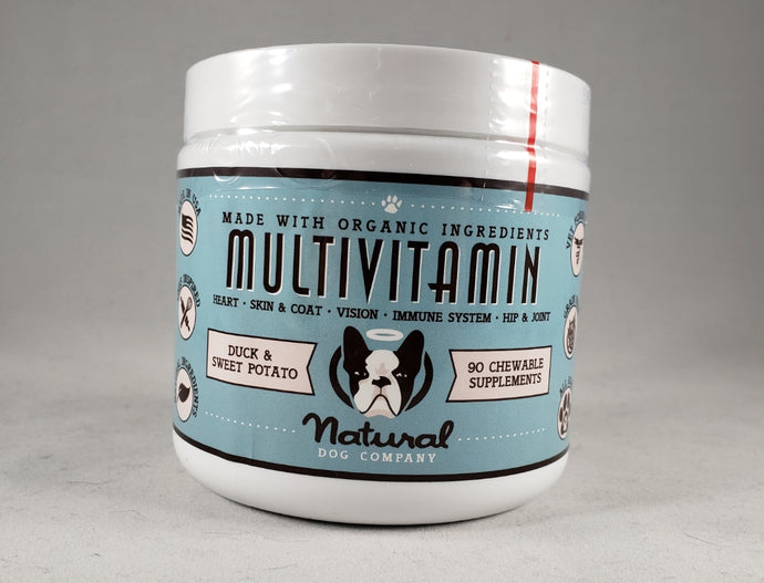 Natural Dog Company - Canine Multivitamin Supplement - RPCS People & Pet Shop