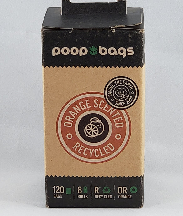 Poop Bags - Orange Scented Waste Bags