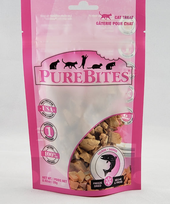 Purebites Salmon freeze dried cat treat
