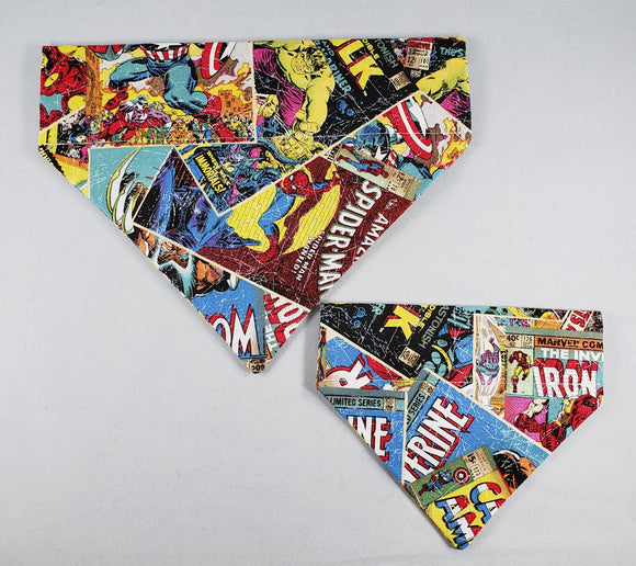 The Snazzy Pooch - Marvel Universe Pet Bandana - 2 Sizes - RPCS People & Pet Shop