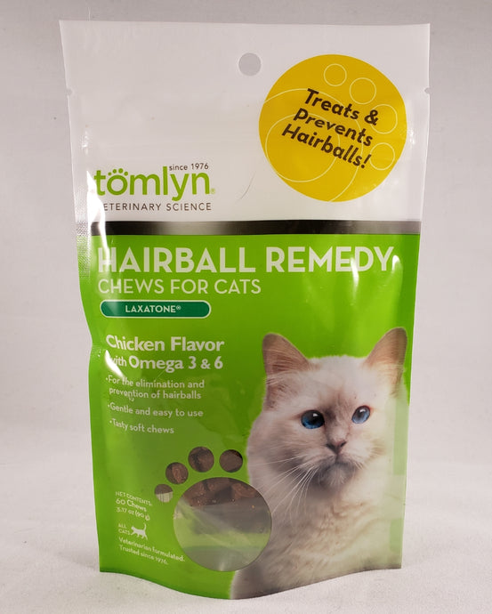 Tomlyn - Hairball Remedy Chicken Cat Chews - RPCS People & Pet Shop