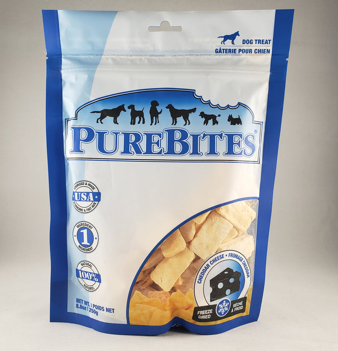 Purebites Cheddar Cheese Freeze Dried Dog Treats