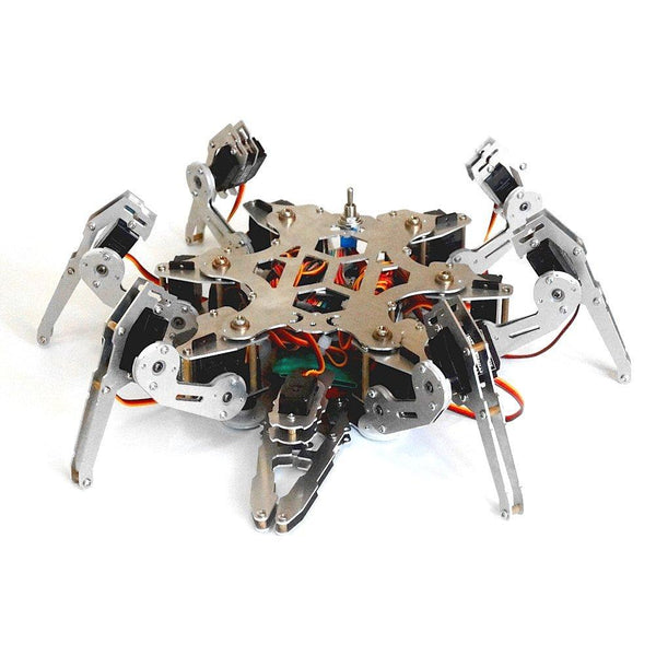 18 DOF Aluminium Mechanical Hexapod Spider - LADSPAD.UK