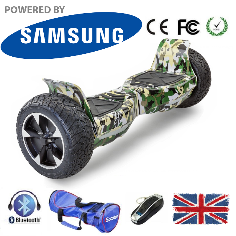 New 2018 Hummer Bluetooth Segway Hoverboard 8.5 Inch