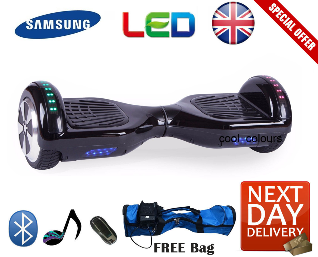 2018 Bluetooth LED Segway Hoverboard - LADSPAD.UK