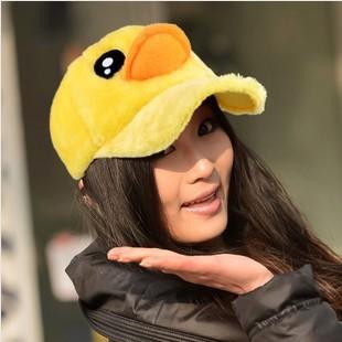 2013 New Big yellow Duck Design Women Hat Hip-Hop Baseball Cap - LADSPAD.UK